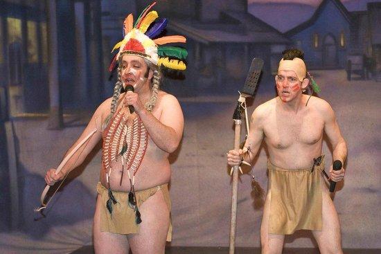The Giggle Dam Dinner Theatre: LOONIES & KOOKS, BEER & TOQUES 2