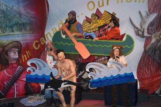 The Giggle Dam Dinner Theatre : LOONIES & KOOKS, BEER & TOQUES 1