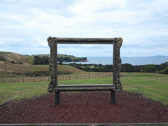 Shakespear Regional Park: photo zone