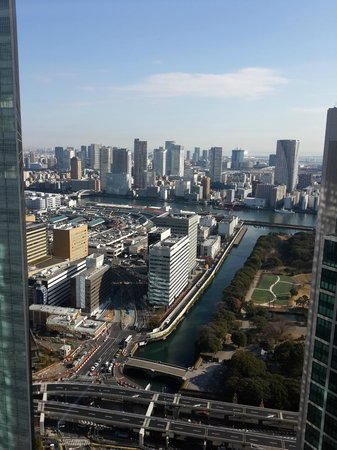 Royal Park Hotel The Shiodome, Tokyo: city view from the room