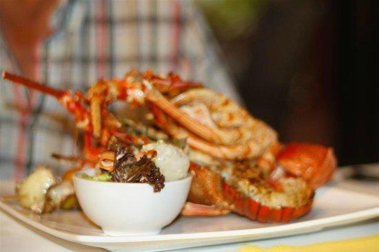 Le Lagoto Resort & Spa : Lobster meal