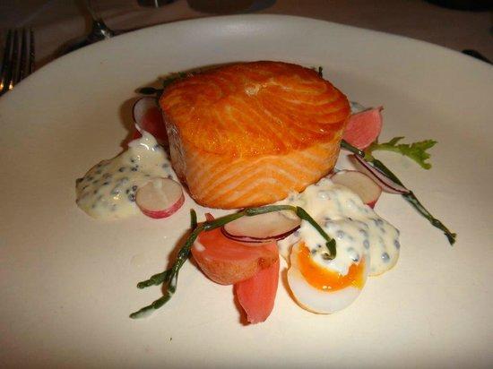 Aria Brisbane: Magnifique saumon