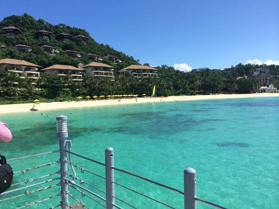 Shangri-La's Boracay Resort & Spa: プライベートビーチ
