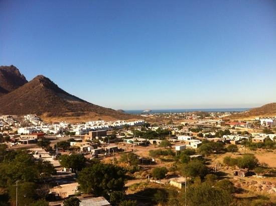 Holiday Inn Express Guaymas : view out of 7th floor.