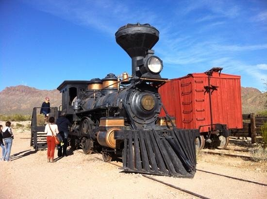 Old Tucson: Interesting history behind this train.