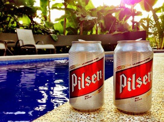 """Villas Oasis: Pool """"pilsen style"""""""