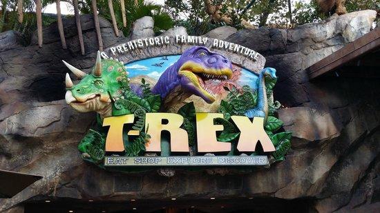 T rex restaurant picture of t rex orlando tripadvisor for Restaurant t rex