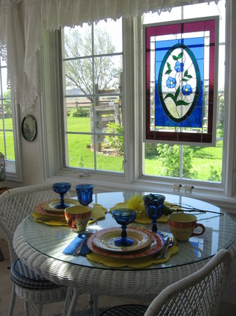 Barn Anew Bed and Breakfast: A sunny way to start the day