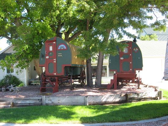 Barn Anew Bed and Breakfast: Sleep in a sheep wagon