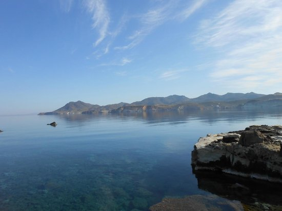 Nefeli Sunset Studios: Amazing clear water and so calm