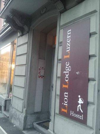 Lion Lodge Lucerne : Entrance