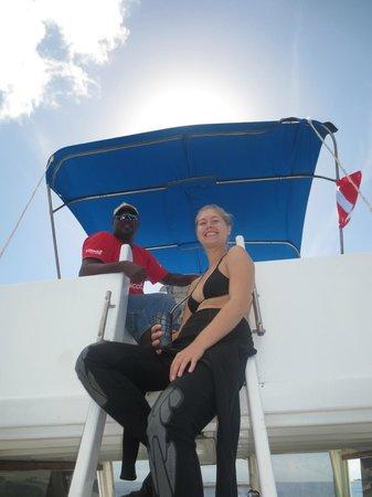 Utila Lodge: Boat Captain Albert