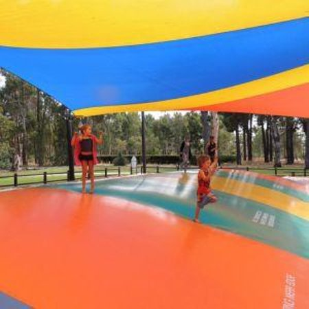 The Maze, Home of Outback Splash : Jumping pillow