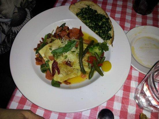 Stella's Italian Restaurant : Squash Ravioli