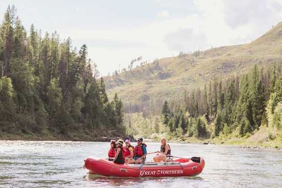 Great Northern Resort: Relaxing Scenic Float