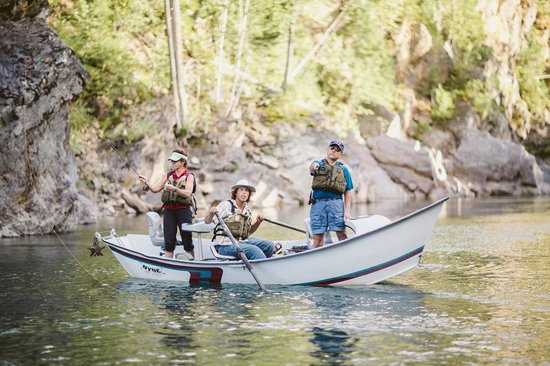 Great Northern Resort: Wonderful Fly Fishing