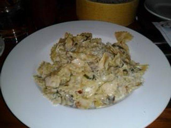 The Vault: mushroom pasta