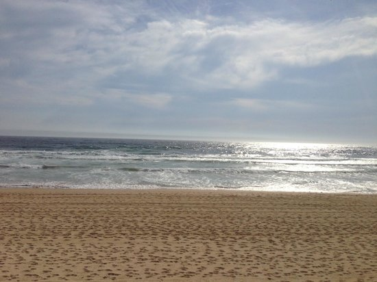 An early morning on Manly Beach