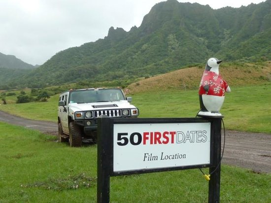 Hummer Tours Hawaii: Over 50 movies made here including this one