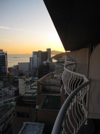 Hotel Riviera Haeundae: from the balcony