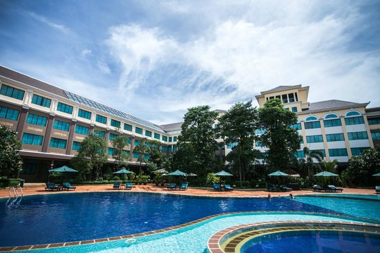 Pacific Hotel & Spa : Pool Side