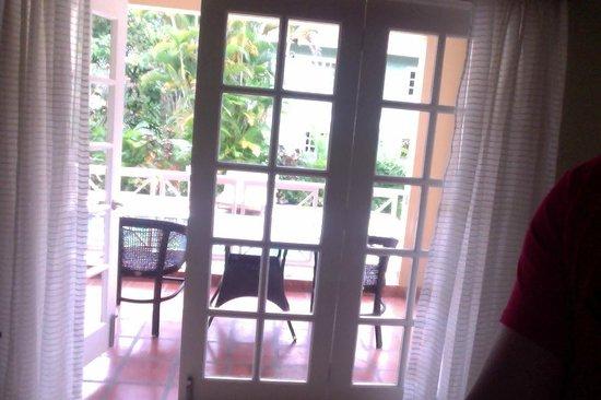 Sandals Ochi Beach Resort: view from living room