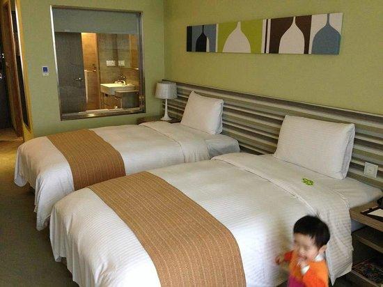 Park City Hotel-Luzhou Taipei: ツインルームその2