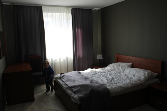 Aparthotel Comfort: спальня в номере
