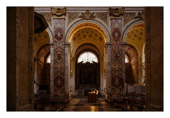 Driver Guide Service: Contarelli Chapel, one of the many interesting stops Ivano showed us (to see Caravaggio's works)
