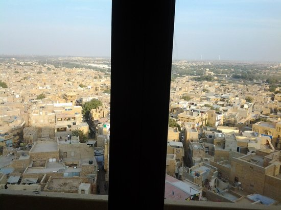 Hotel Garh Jaisal Haveli: view from green room