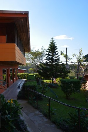 Hotel Cipreses Monteverde Costa Rica: Part of main building