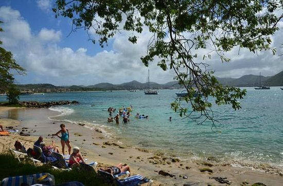 LucianStyle Segway Day Tours: Pigeon Island's wonderful beach