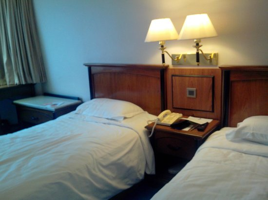 Kimberley Hotel: Firm beds
