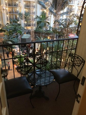 Gaylord Opryland Resort & Convention Center : Balcony in Room