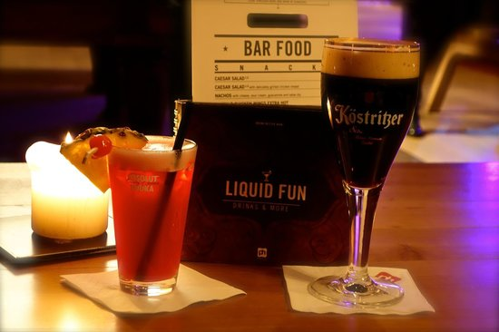 pentahotel Leipzig: Bar/Loungebereich