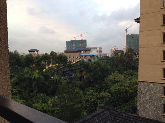 Chimelong Hotel: View from balcony