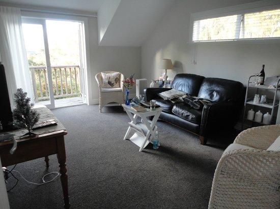 Treghan Luxury Lodge: lounge area