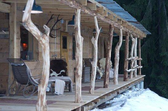 Rinderberg Swiss Alpine Lodge : sauna