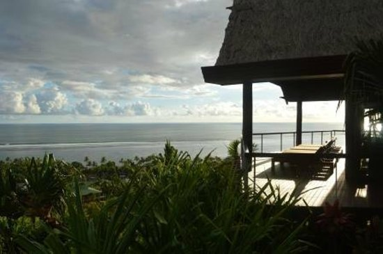 Outrigger Fiji Beach Resort : View from Spa
