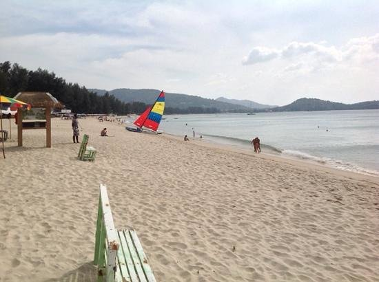 Dusit Thani Laguna Phuket: on the beach