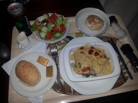 Chelsea Villa Guest House: Delicious dinner!!!