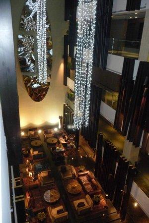 Melia Dubai Hotel: Vue du lobby