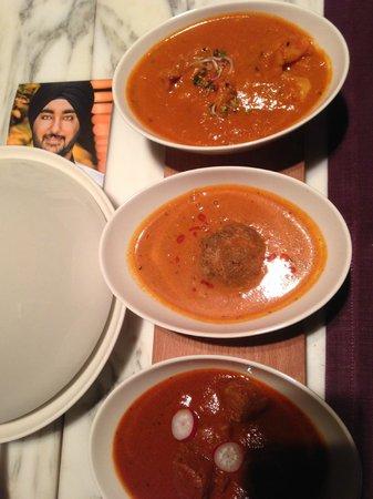 Giardino Lounge e Ristorante : 3 curry