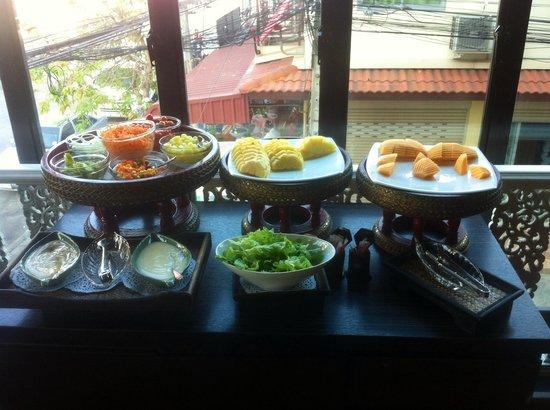 Chalelarn Hotel Hua Hin: Breakfast buffet