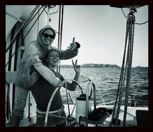 Villa Russell: Us sailing