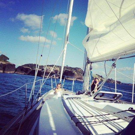 Villa Russell: Sailing