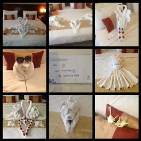 Amadea Resort & Villas: Towel Art