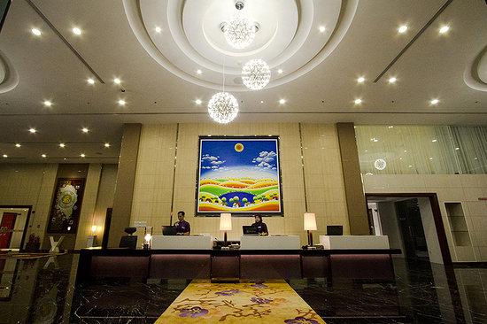 Kuala Belait, Brunei Darussalam: V plaza Hotel Receptionist