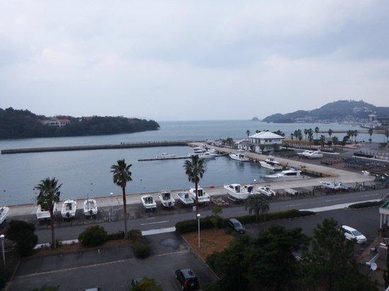 Hagi Tanaka Hotel : 部屋からの眺め