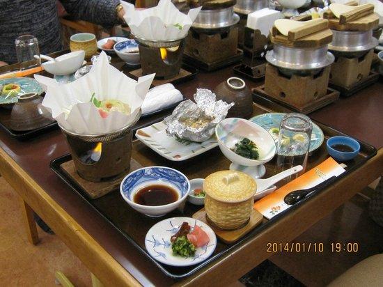 Hagi Tanaka Hotel : 夕食